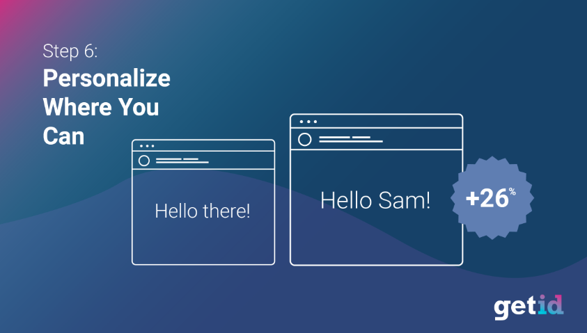 Personalize the Onboarding Process