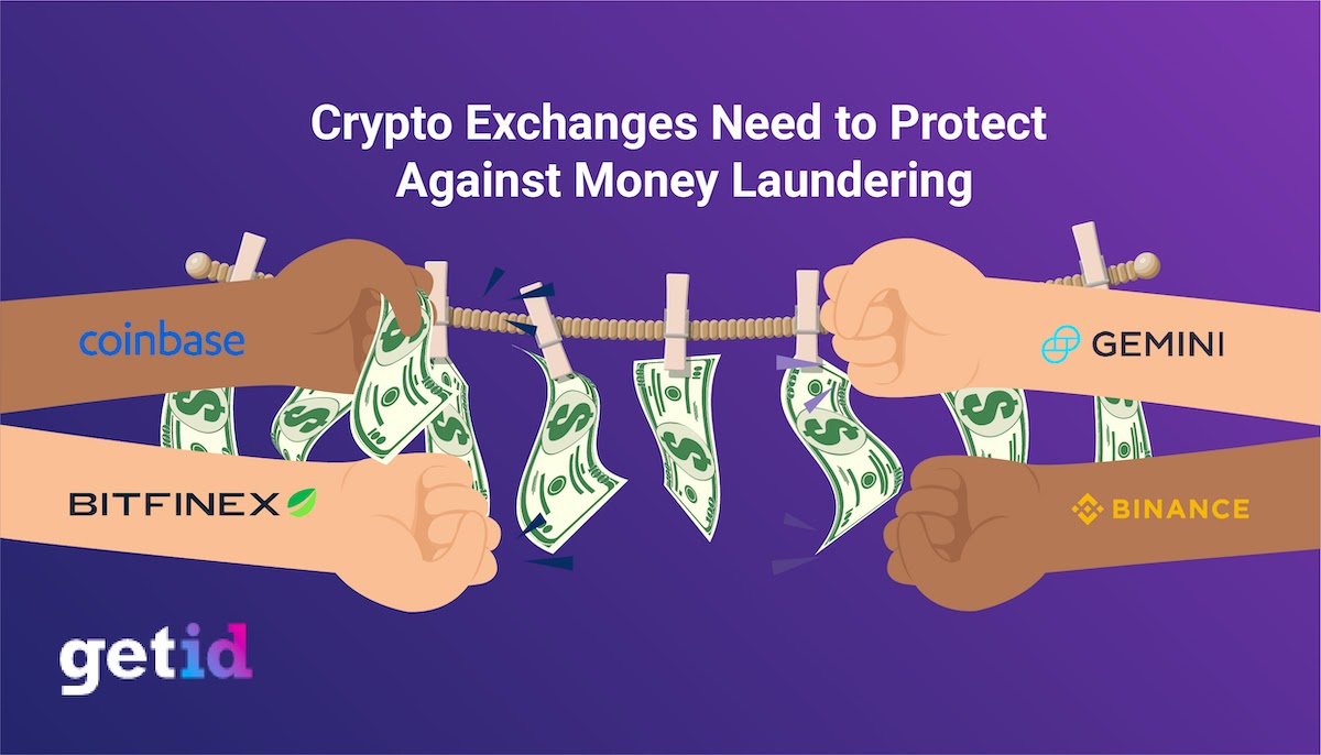 Crypto Exchanges need to protect against money laundering