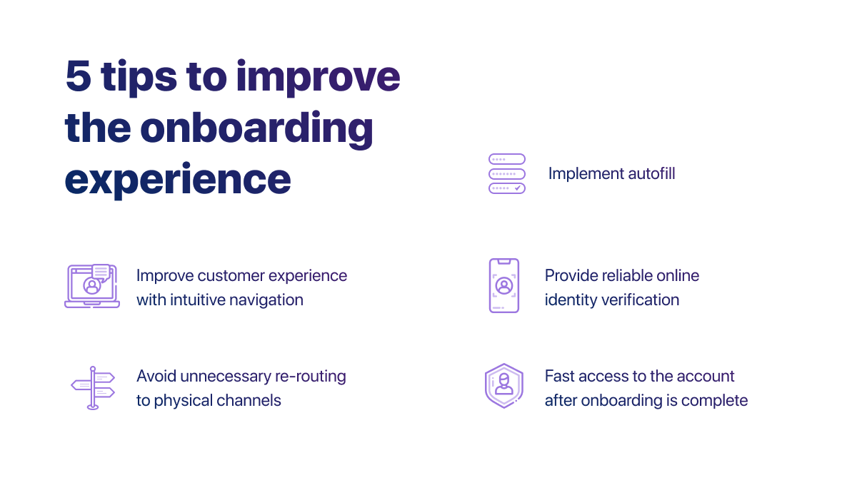 5 tips to improve the onboarding experience