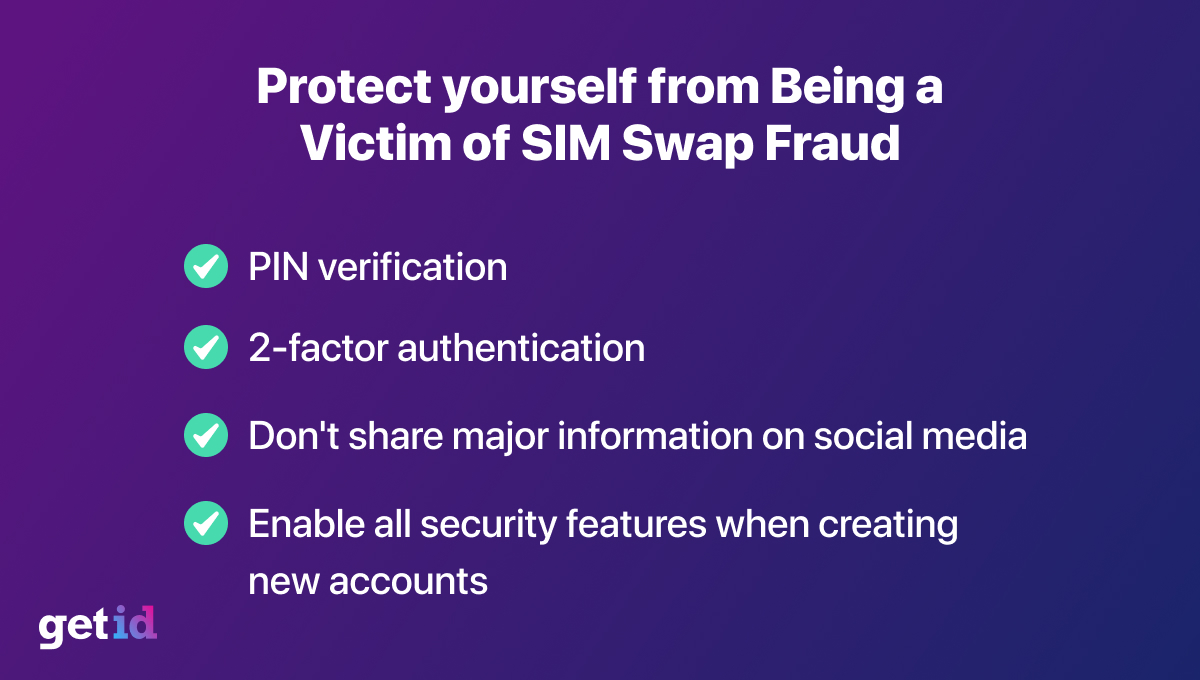 Protect yourself from being a victim of SIM Swap fraud